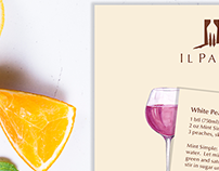 Sangria Recipe Card