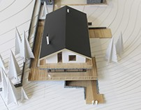 Scale model of house for SULYK Architects
