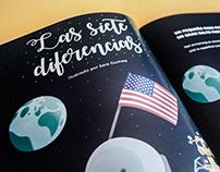 Principia Kids Magazine #4 - las siete diferencias
