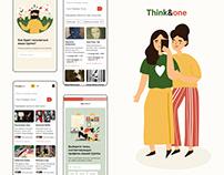 Think&one сервис для поиска единомышленников