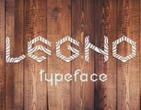 Legno font | typeface