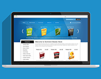 EBOOK Store - Web Design