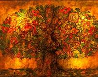 Tree stories part #1 / Colour Tree
