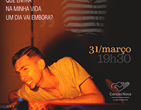 Poster - Quem Vai Chorar Por Ele - Canção Nova Curitiba