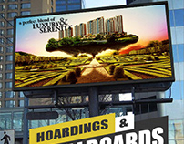 Hoarding Billboards Design Concept By Yantram Real Esta