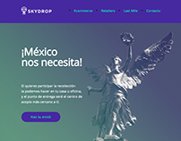 Skydrop - Acopio Para Damnificados Email Template