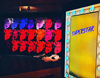 """Interactive Photo booth """"Russel Young~Superstar"""""""