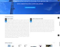 Sitio Web Empresarial para industria petrolera.