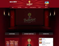 Butterkist Rebranding Website UX Design