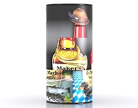 Makers Mark - Travel Retail Packaging