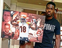 Designs for Paintings of Pro Athletes