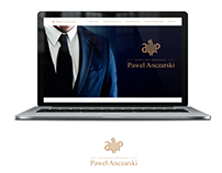 Website for law office Paweł Anczarski