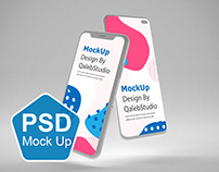 Clean IOS & Android MockUp