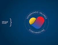 Diseño de logo para campaña de valores.