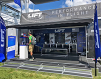 LIFT Aviation Trade Show / Exhibit Design / POP