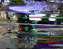 GERHARD RICHTER GOOGLE EARTH APP abstract option (2017)