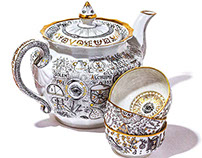 Alchemy porcelain / Алхимический фарфор