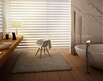 Render blinds virtual photo set