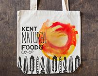 Kent Natural Foods Co-op Re Branding