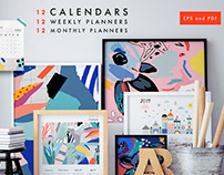 Calendars 2019+planners