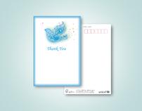 UNICEF Japan greeting card
