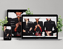 Armani Website Redesign
