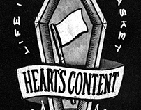 HEART'S CONTENT: Life In An Open Casket Shirt