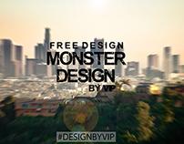 Avatar for my group in vk Monster Design