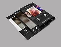 Pictor Photo Editor App Design