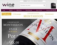Hotsite: Champagne Montaudon Brut