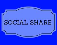 Social Share Mobile App