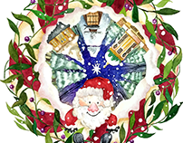 MERRY CHRISTMAS! / ILLUSTRATIONS