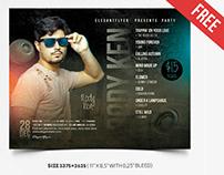 Guest DJ – Free PSD Flyer Template