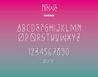 NIEWE free font