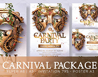 Carnival Party Package PSD