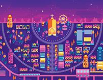 Entrelinhas Urbanas - Illustration