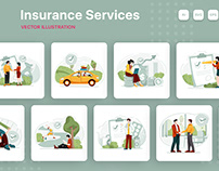 M216_Insurance Service Illustrations