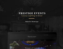Luxury Light & Decor Site Redesign