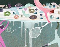 Illustrations for the KUKBUK Magazine