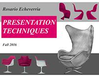 Presentation Techniques: Furniture Renderings
