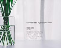 Urban Oasis hydroponic farm