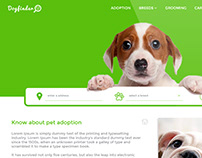 DogFinder - a simple web design template.