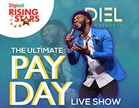 Diel Live Show Flyer