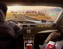 Super Bowl City: Road To Houston.