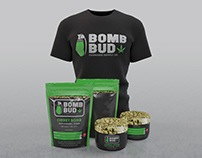 Bomb Bud Cannabis Supply Co. Branding Design