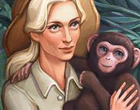 Jane Goodall | Illustration