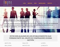 Grupo Dogma Gestión – Rediseño Web con Wordpress