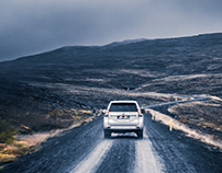 TOYOTA Land Cruiser in Iceland for ramp Magazine