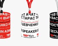 TEDx Kyiv Conference Identity