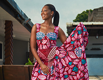 Afua Rida for Vlisco